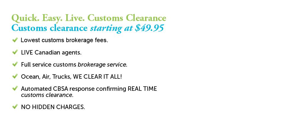 Customs broker ups canada